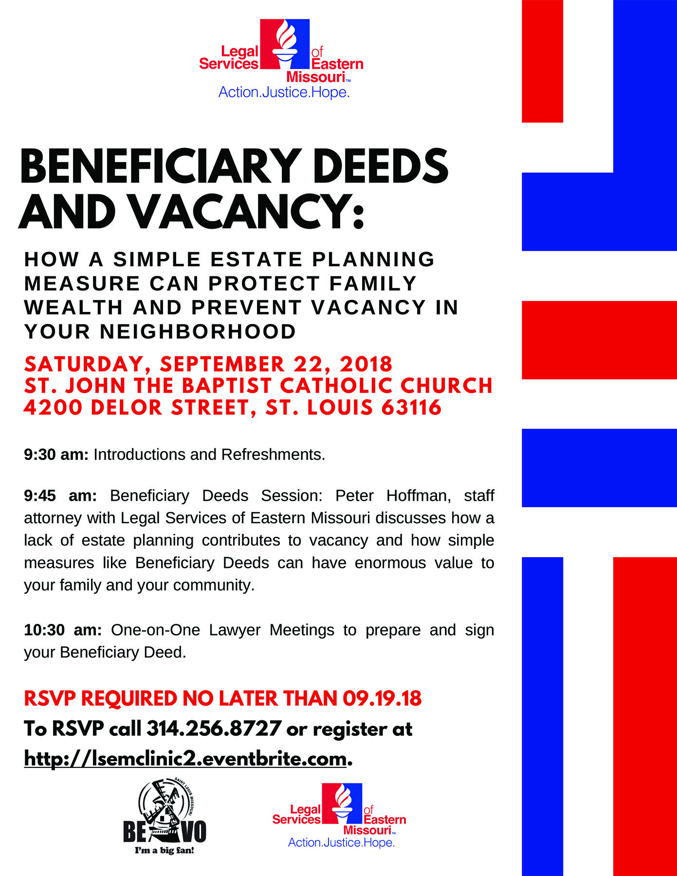 beneficiary deeds and vacancy clinic legal services of eastern