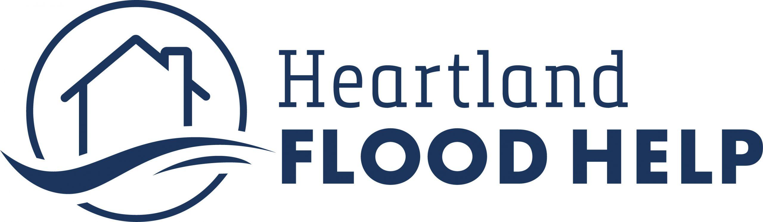 Heartland Flood Help logo