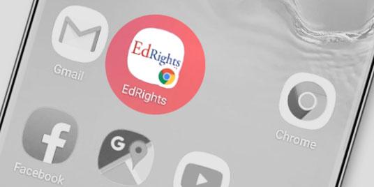 EdRights App on Home screen